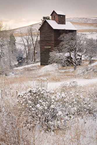 Winter Granary | by David M. Cobb