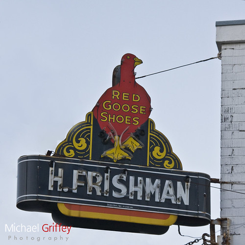 Frishman's Red Goose Shoes | by michael griffey