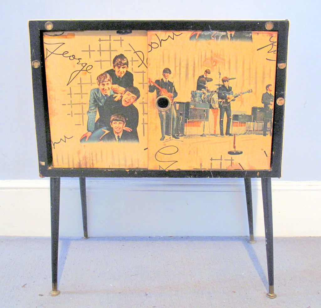 1960s Record Cabinet 1960s Record Beetles Inspired Record Cabinet Chris 9 Flickr
