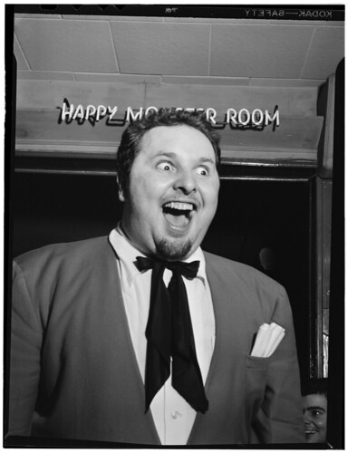 [Portrait of Chubby Jackson, Esquire Club, Valley Stream, Long Island, N.Y., ca. Apr. 1947] (LOC) | by The Library of Congress