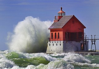 "Grand Haven Lighthouse , Grand Haven Michigan, (Pierhead outer)"" Front page explore"" 