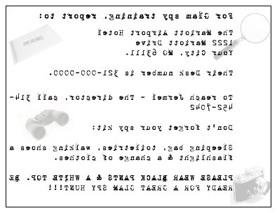 spy party invitation the agents that chose to accept t flickr