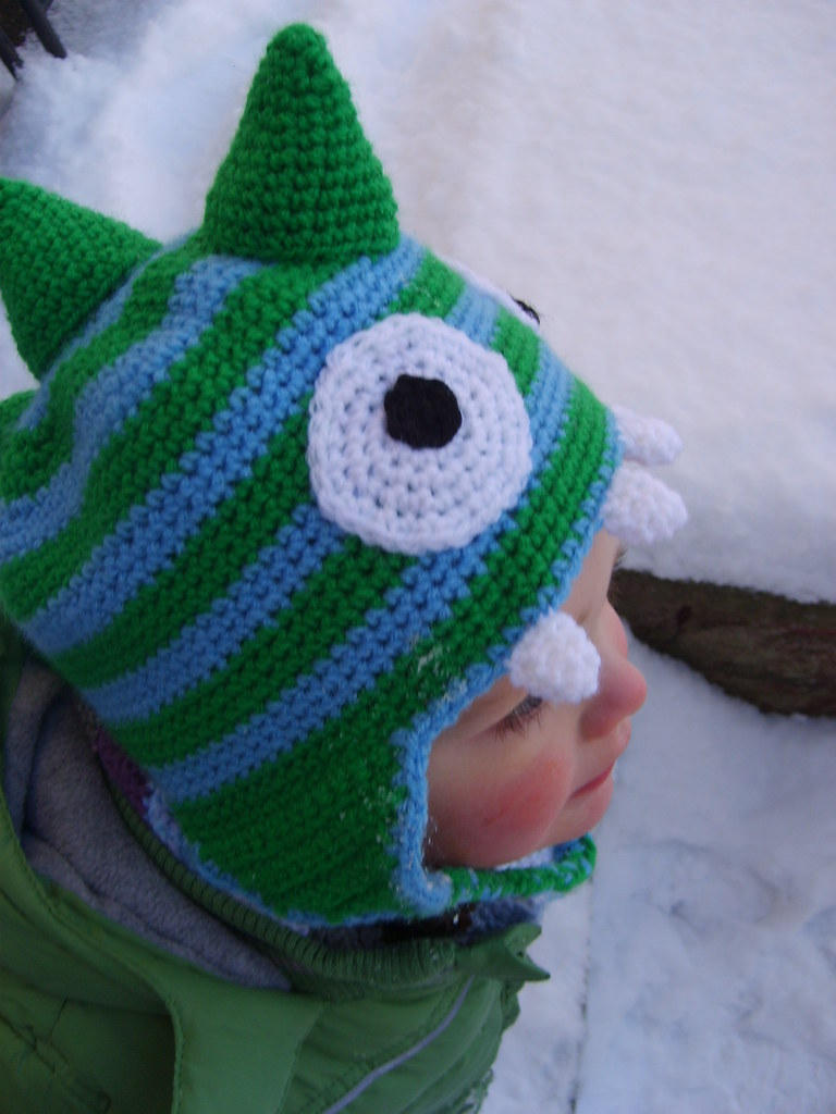 Crochet Dinosaur Hat The Free Pattern Is Now Available On Flickr