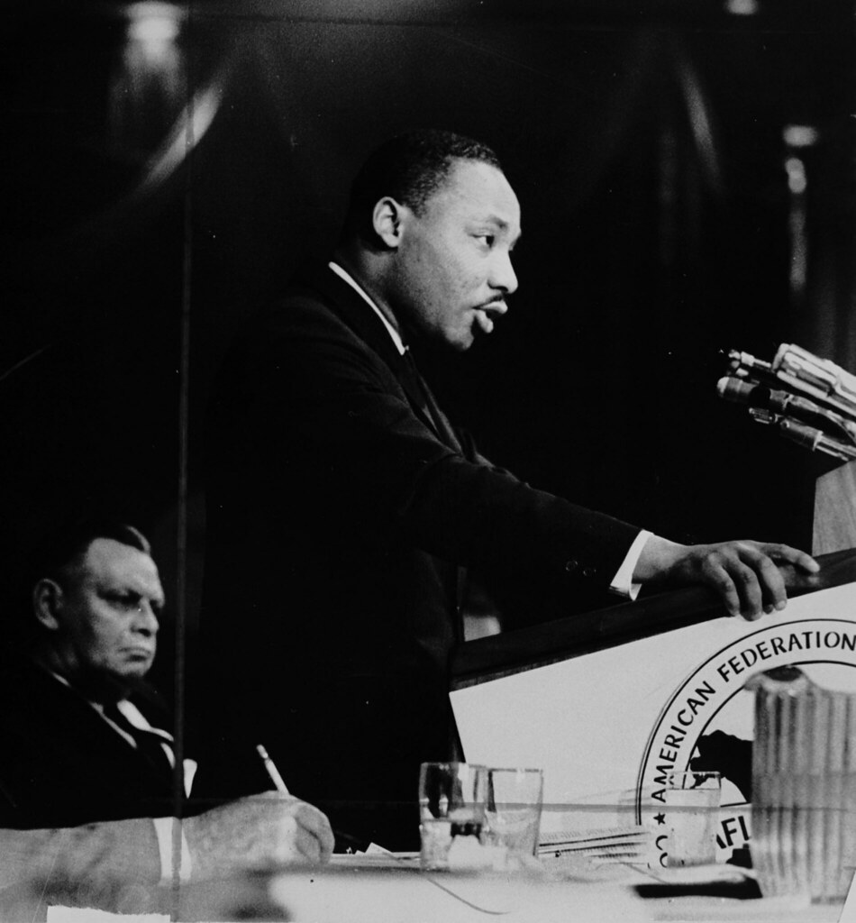 dr martin luther king jr speaking at an afl cio event flickr dr martin luther king jr speaking at an afl cio event
