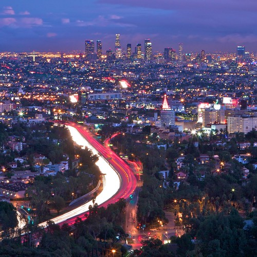 Los Angeles from Mulholland Drive | by --Mark--