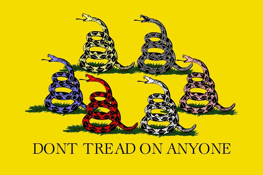 dont tread on anyone dont tread on anyone by jason medovic flickr