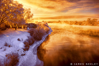 Warm Light, Cold Morning | by James Neeley