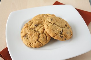 Peanut Butter-Oatmeal Chocolate Chip Cookies | by Tracey's Culinary Adventures