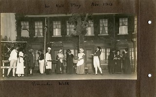 1st Hall Play Nov 1913; Pomander Walk | by strong_sarah