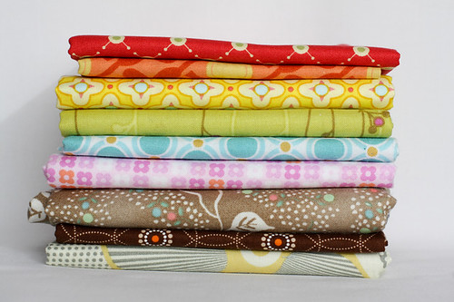 Fabrics with Small Accents | by Jeni Baker | In Color Order