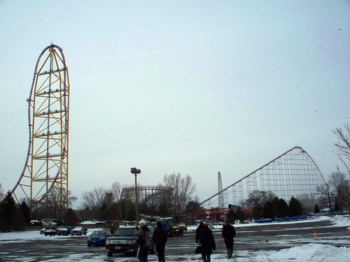Cedar Point - Off-Season Top Thrill Dragster and Magnum XL-200 | by Andrew Borgen