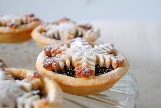 Marzipan topped mince pies | by toriejayne