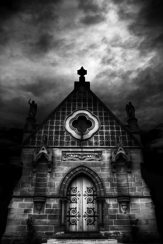 St Michael, The Archangel Chapel - Rookwood Necropolis | by Luke Peterson Photography