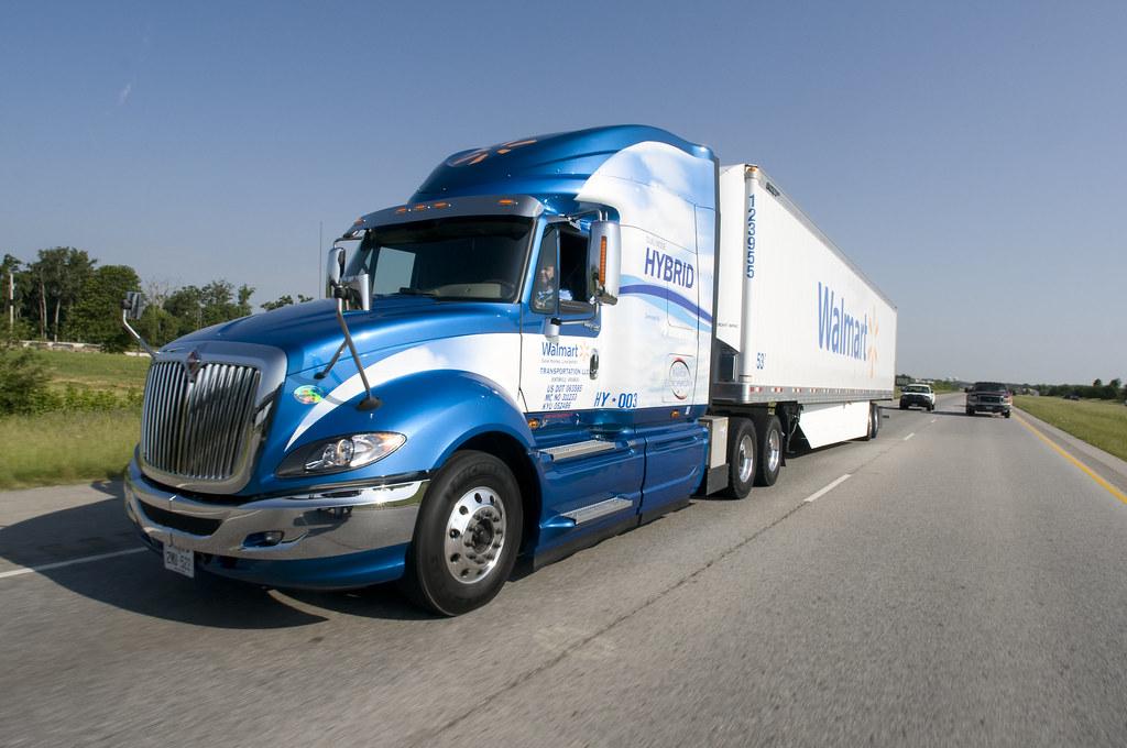 Walmarts Full Hybrid Truck