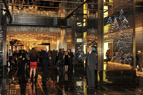 Guests attend the opening of The Cosmopolitan Of Las Vegas | by The Cosmopolitan of Las Vegas