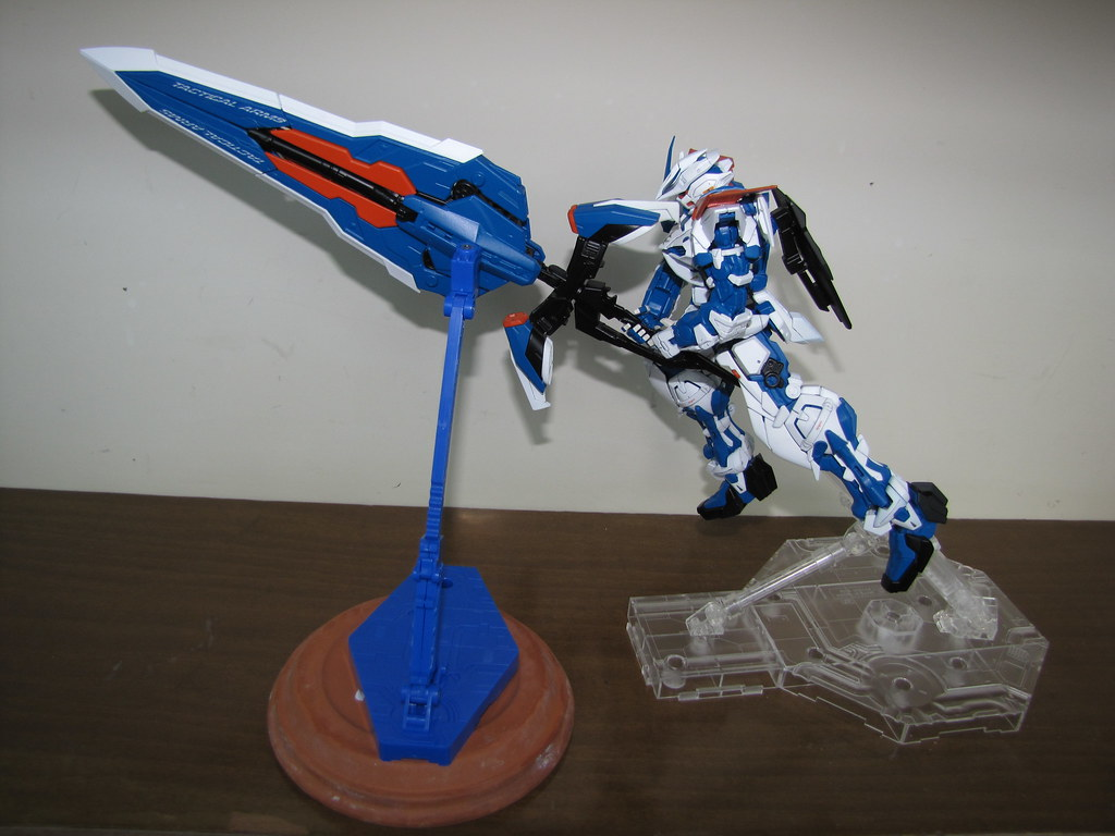 Gundam Astray Blue Frame Mg Second Revise Rozzindisguise Flickr By