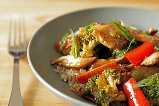teriyaki chicken stir-fry | by Madison Bistro