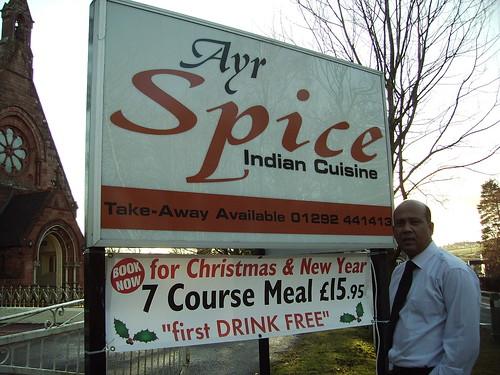 Indian Restaurant Ayr Road