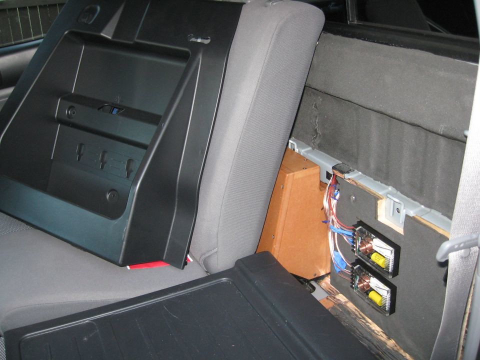 toyota tacoma alpine pdx5 subwoofer crossover install flickr. Black Bedroom Furniture Sets. Home Design Ideas