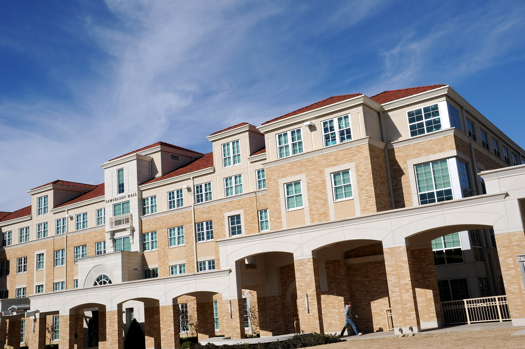 This is the outside ofSamuelson Hall