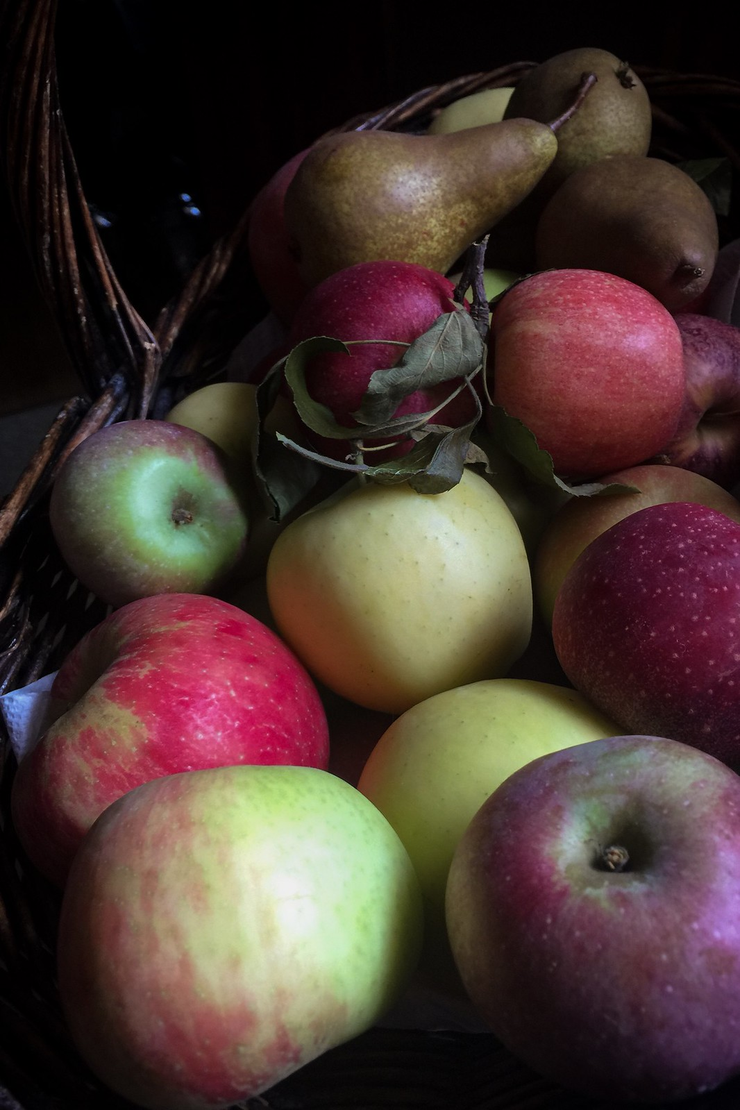 (265/366) Basket of Apples and Three Pears
