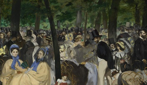 Édouard Manet, 'Music in the Tuileries Gardens'