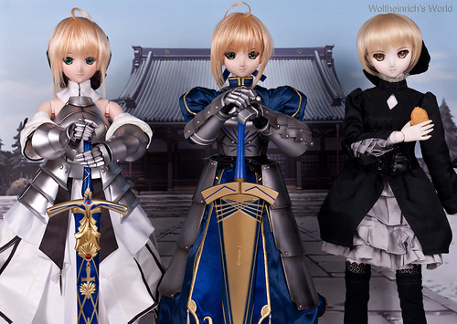 Trinity of Dollfie Dream Saber セイバー 三巨頭~ | by Wolfheinrich