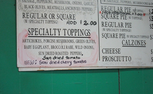 Specialty Pizza Toppings at Di Fara | by Adam Kuban