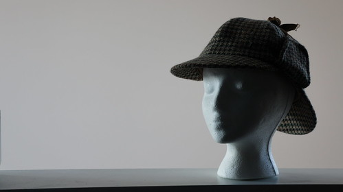 Foam Head in a Deerstalker Cap | by aforgrave