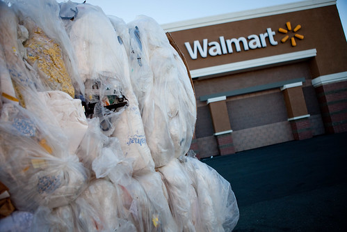 Walmart Recycling with Super Sandwich Bale | by Walmart Corporate
