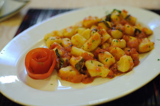 Tomato Basil Gnocci | by goingslowly