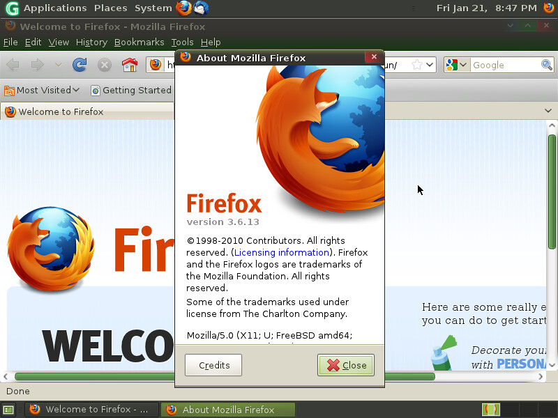 mozilla firefox 3.6.13 gratuit