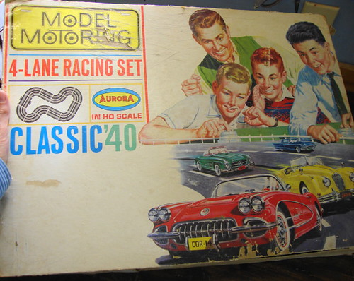 Aurora ThunderJet TJet HO Slot Car Lot | by Play and Learn Collection: Toys That Influence