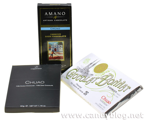Chuao Collection - Amano, Coppeneur & Chocolat Bonnat | by cybele-