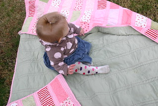 carlee quilt and cute model :) | by onehappymamma