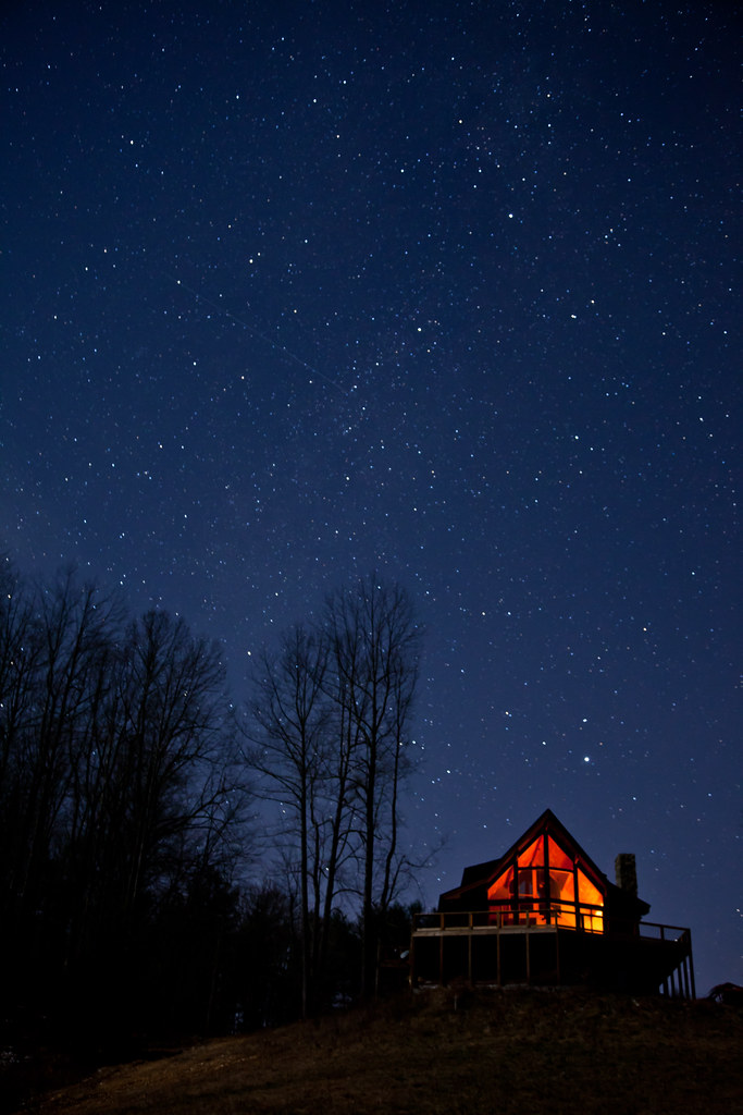 Clear Starry Night Sky
