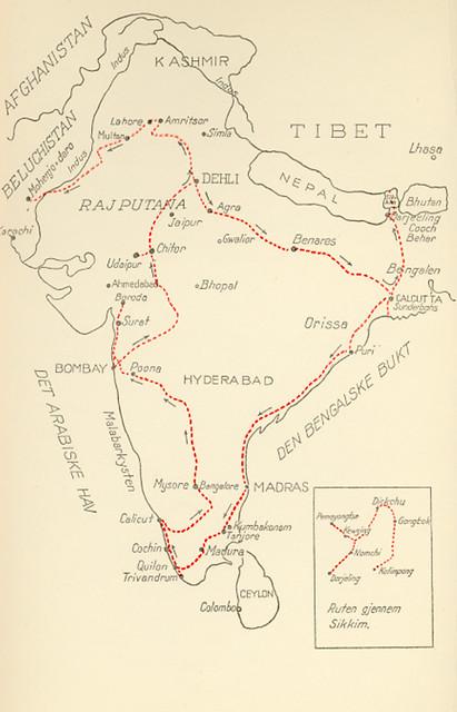 Meyer, Elisabeth (1899-1968), fotografier fra en reise i India
