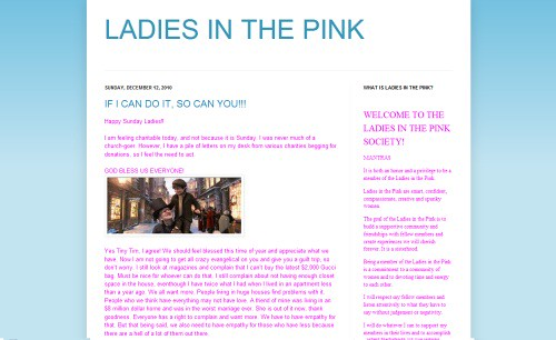 Ladies in the Pink | by Blogging Women