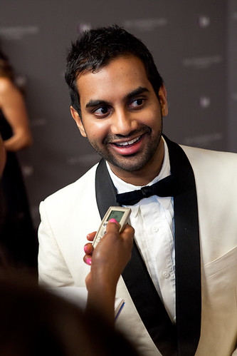 Actor Aziz Ansari at The Cosmopolitan Grand Opening and New Year's Eve Celebration | by The Cosmopolitan of Las Vegas