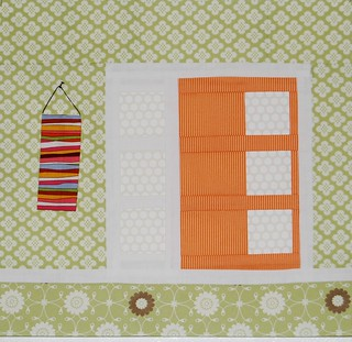 Mid Century Modern Door for Lisa | by Lynne @ Lilys Quilts