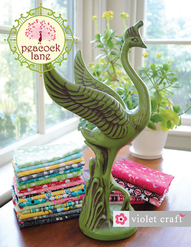 Peacock Lane Brochure Cover | by violetcraft