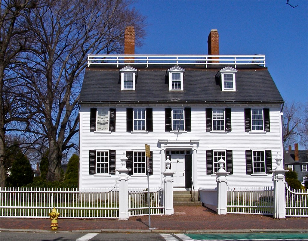 American house styles of the 18th century