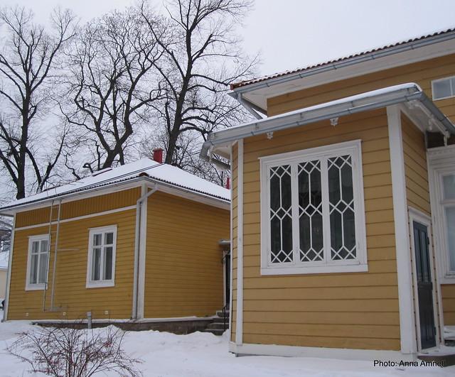 Turkulaisia puutaloja