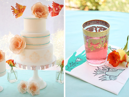 Mexican inspired cake table | by Cake Ink. (Janelle)