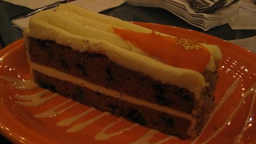 Carrot Cake Food Label