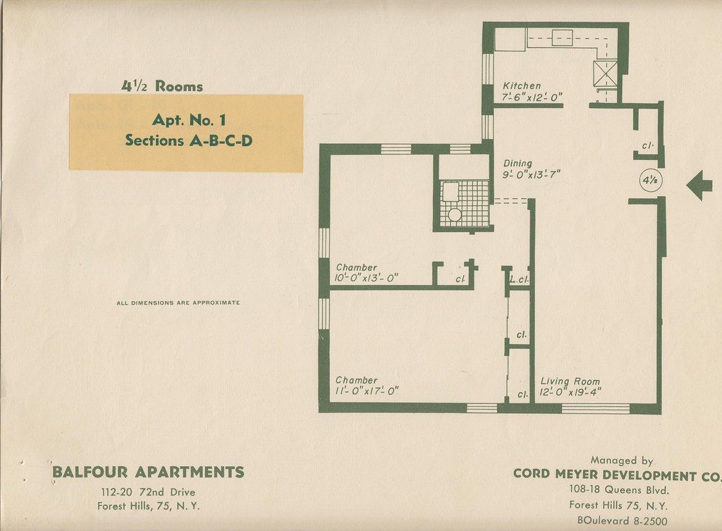 Balfour 112 20 72nd dr forest hills ny blueprint 1 flickr balfour 112 20 72nd dr forest hills ny blueprint 1 by rego forest malvernweather Gallery