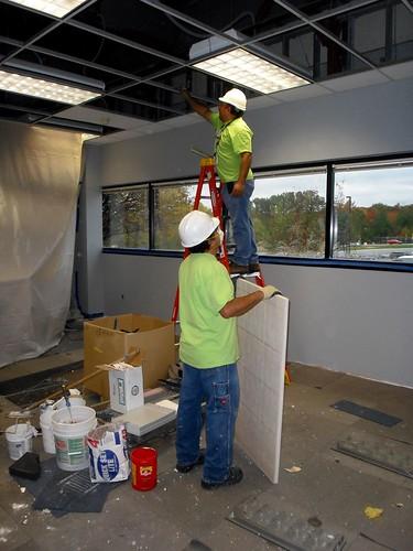 Maintenance Workers   Maintenance workers in Building 29 ...