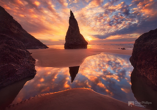 Wizards Hat, Bandon, Oregon Coast | by Chip Phillips