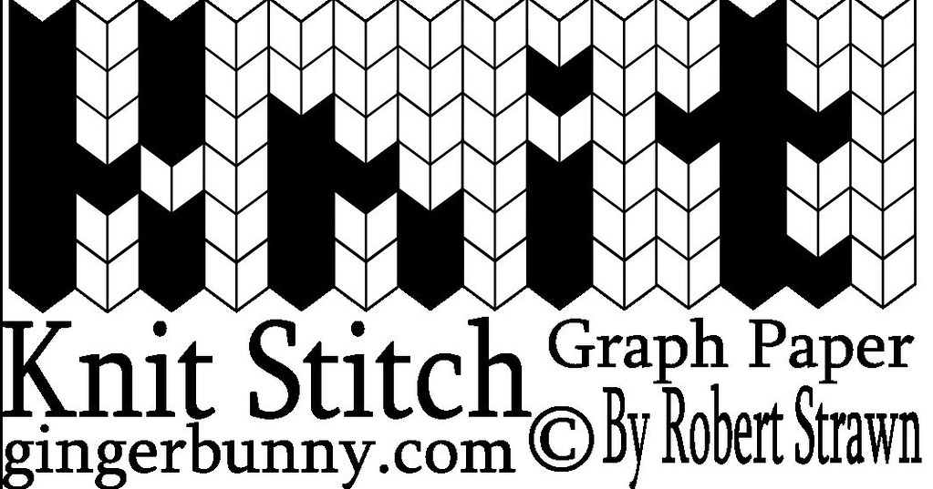 knit stitch graph paper logo rectangle gari flickr