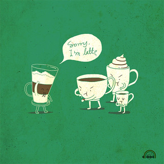 Day 32: Coffee That Always Late | by ILoveDoodle